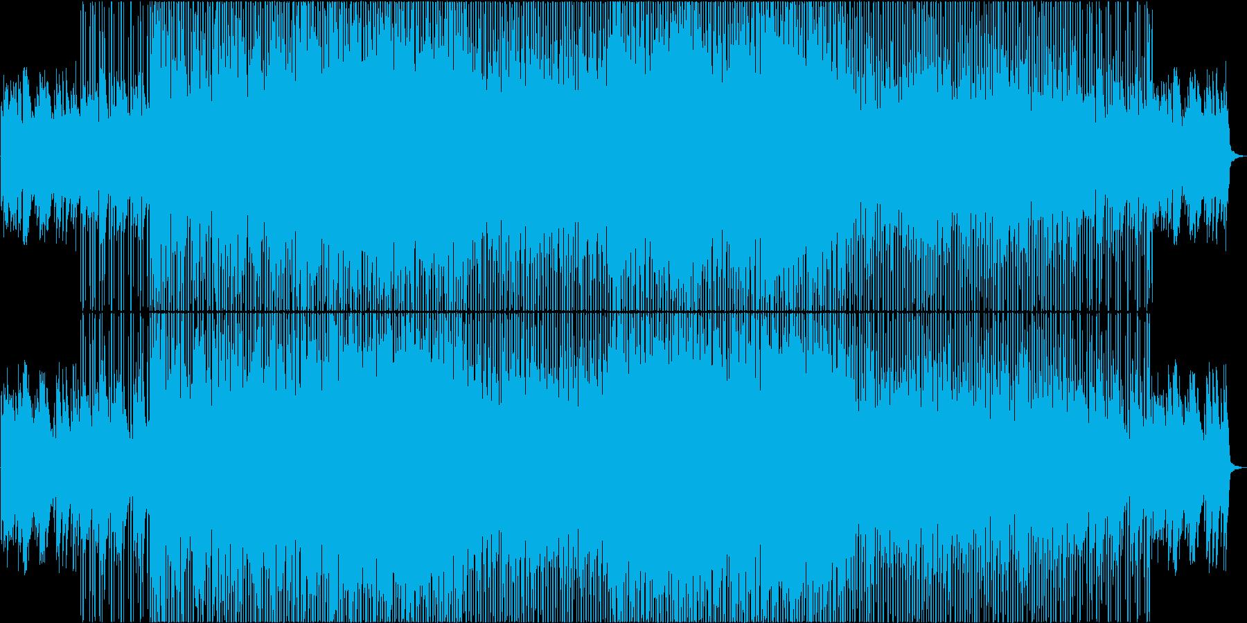 爽やか・やさしい映像にあうピアノとリズムの再生済みの波形