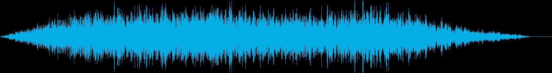 フオォ.. (洞穴の音)の再生済みの波形
