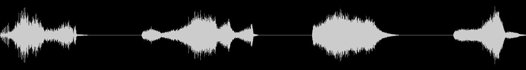 ゴーストブリージング、ホラー、4テ...の未再生の波形