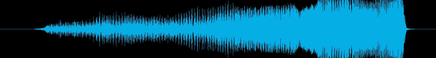 はぁぁっ!の再生済みの波形