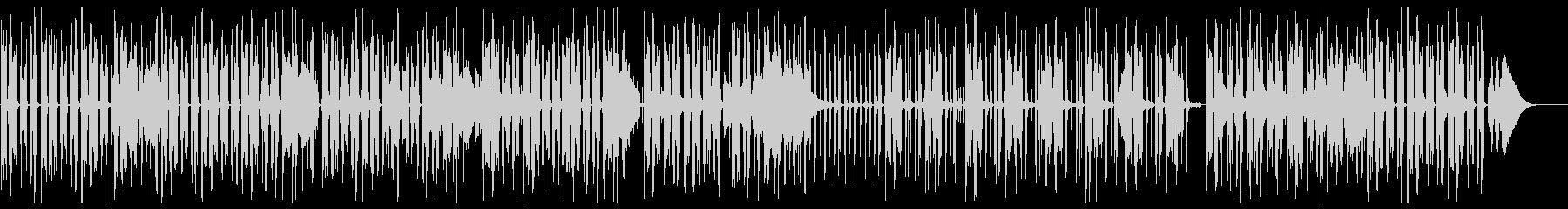 グルーヴ感のあるジャジーヒップホップの未再生の波形