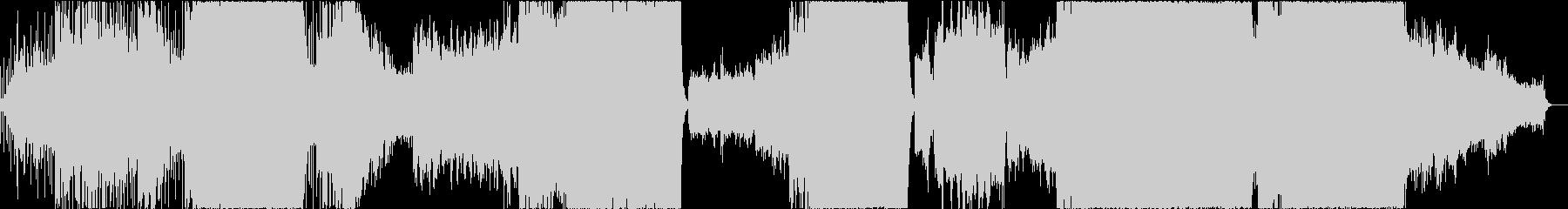 和風エレクトロ・プログレッシブロックの未再生の波形