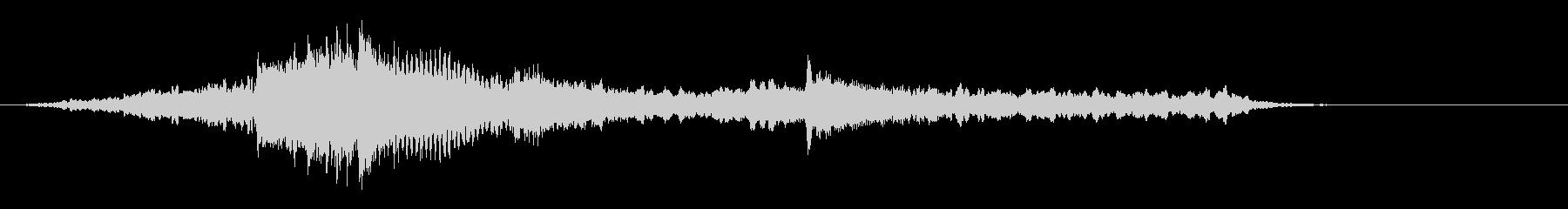 映像用BGM_ショッキング2の未再生の波形