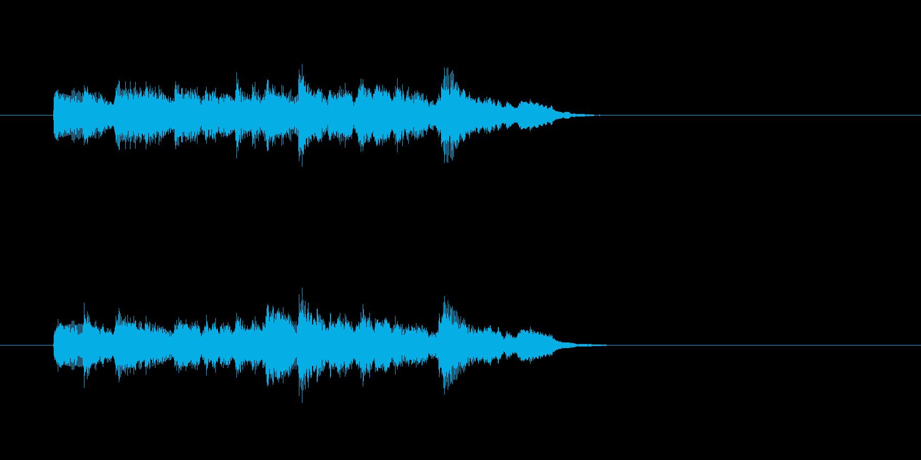 かわいい ほのぼの 日常 キラキラの再生済みの波形