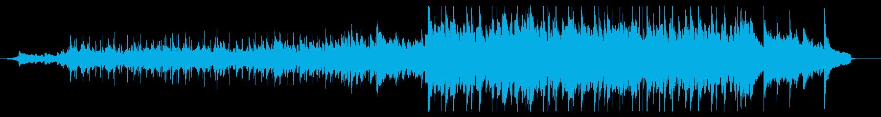 90秒CM用、爽やかで優しい幸せな曲調の再生済みの波形