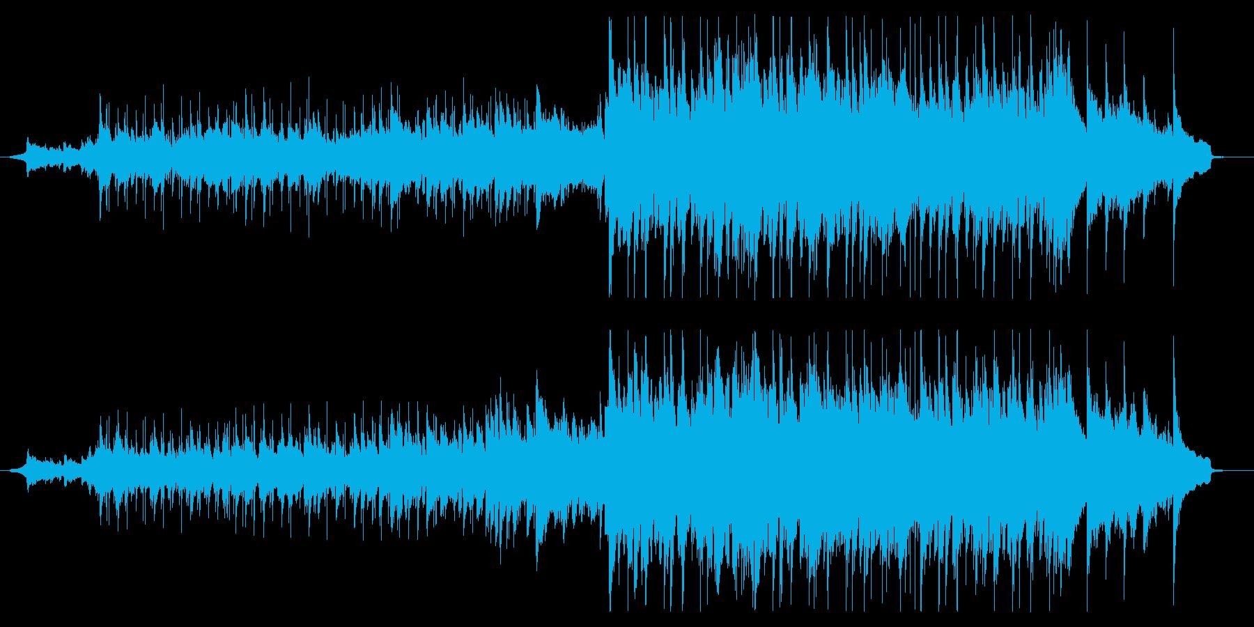 VP系、優しく感動的、90秒CMの再生済みの波形