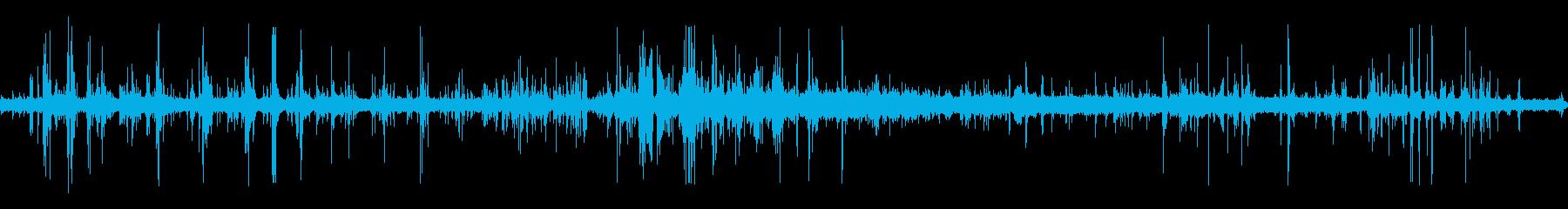 重機が建物を解体している音 12の再生済みの波形