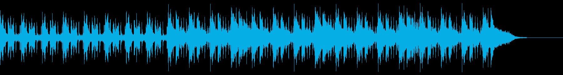Pf「職人」和風現代ジャズの再生済みの波形