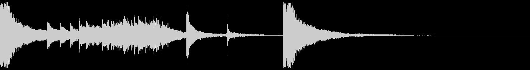 アイキャッチ系の和風曲の未再生の波形