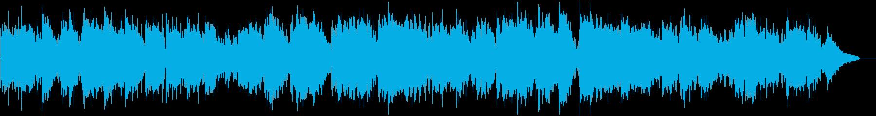 穏やかで安らぐリラックス系ヒーリング曲の再生済みの波形