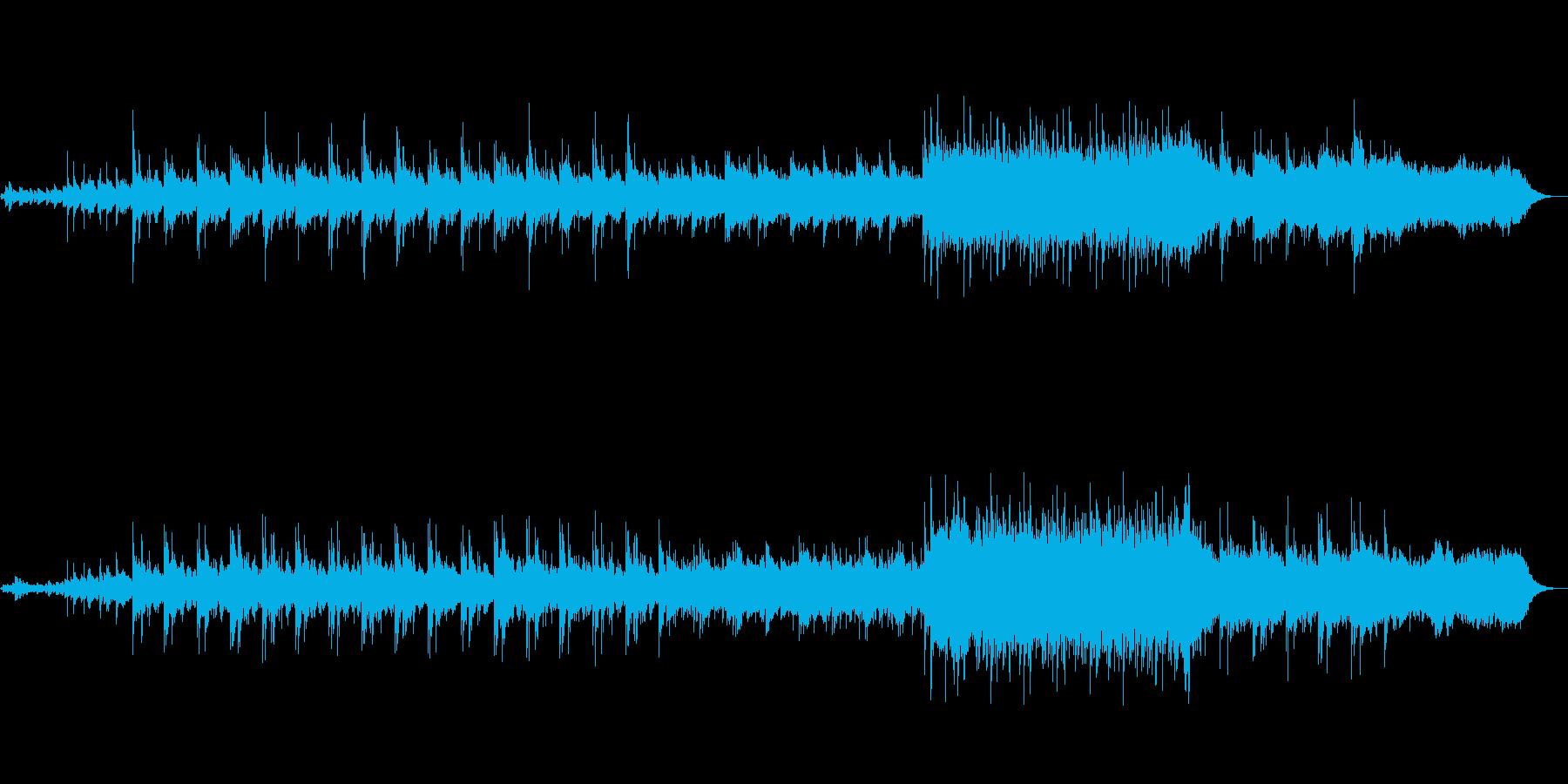 ポジティブなヒーリング系BGMですの再生済みの波形