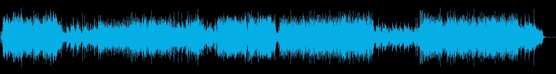 浮遊感とエネルギーのマイナーフュージョンの再生済みの波形
