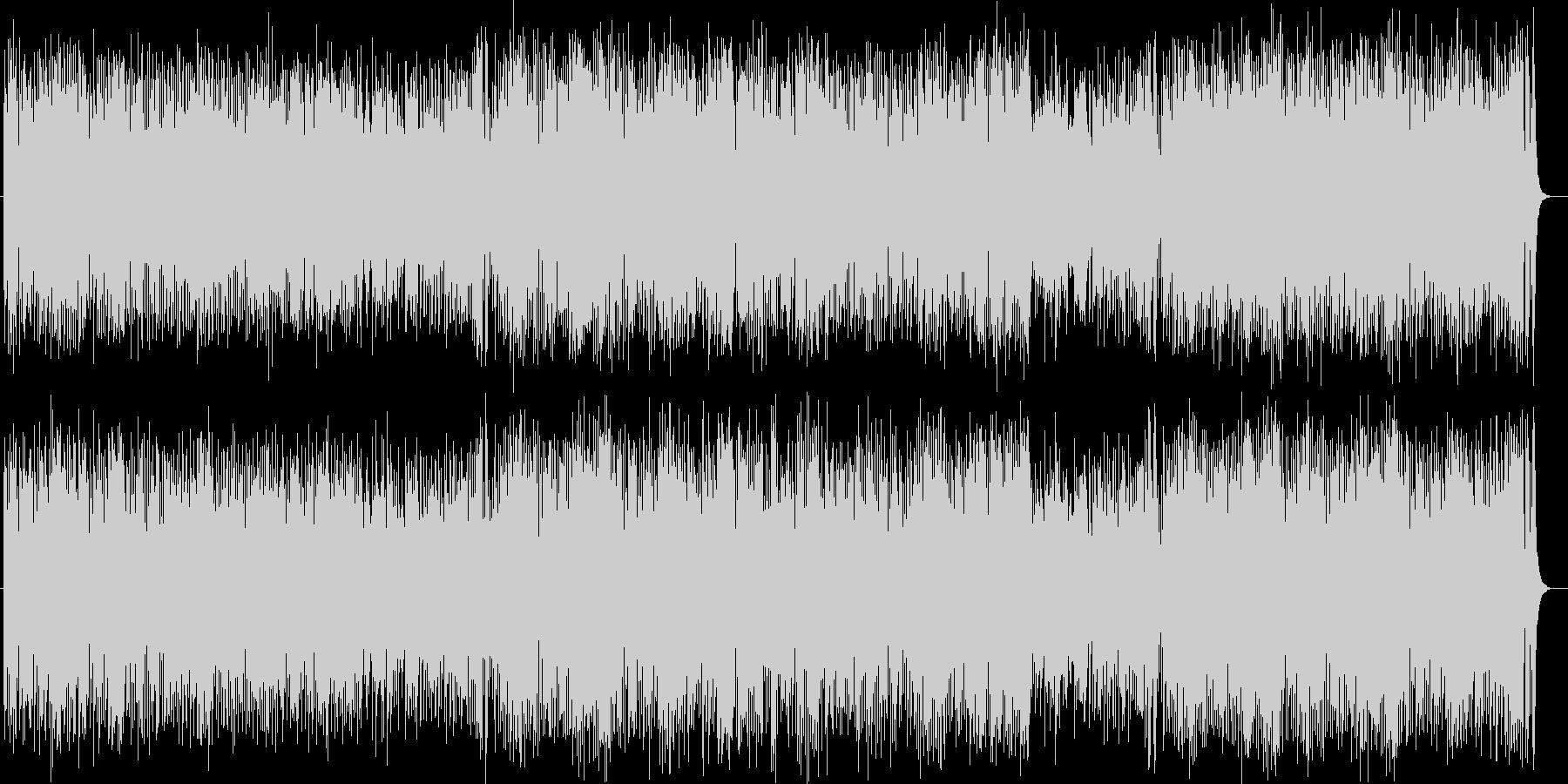 明るく勢いありシンセ・ドラムのサウンドの未再生の波形