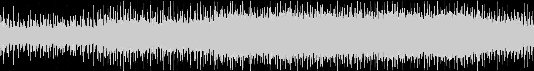 FM音源でアクションの未再生の波形