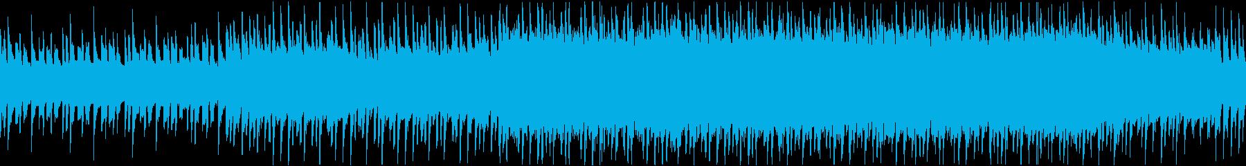FM音源でアクションの再生済みの波形