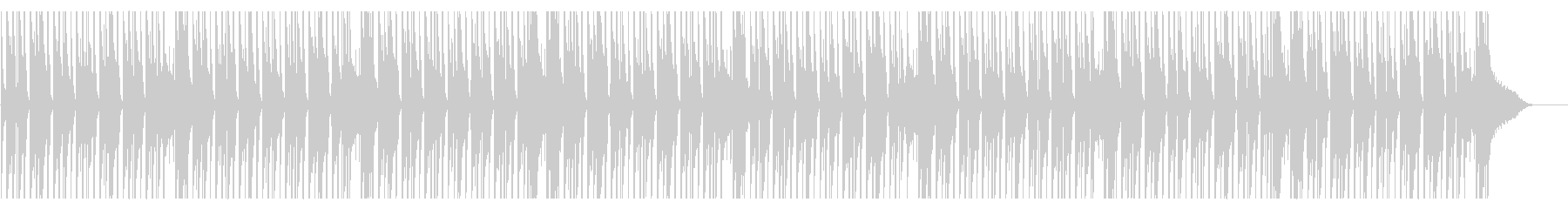 CMやアニメ系の日常(ハープ)の未再生の波形