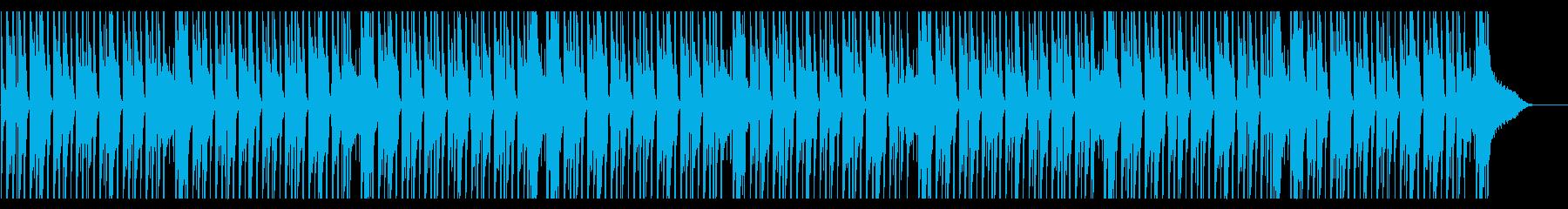 CMやアニメ系の日常(ハープ)の再生済みの波形