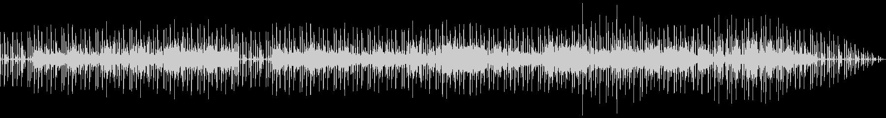 キーボードが印象的なちょっとかっこいい曲の未再生の波形