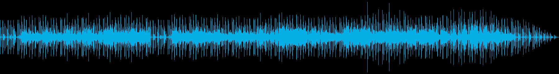キーボードが印象的なちょっとかっこいい曲の再生済みの波形