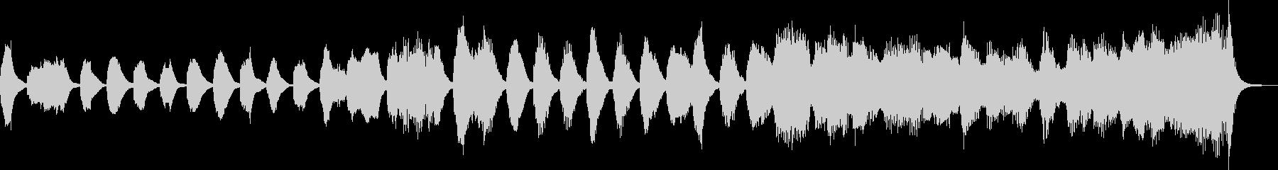 クラシックのバッハ風のジングル_ループの未再生の波形
