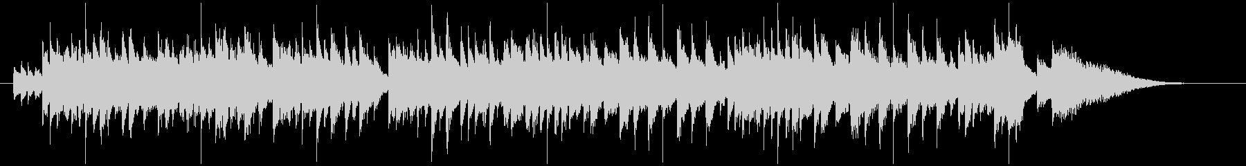 ハープの音色が美しいファンタジックな小曲の未再生の波形