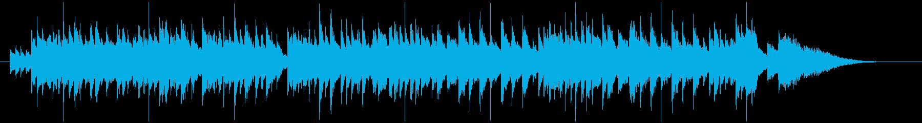 ハープの音色が美しいファンタジックな小曲の再生済みの波形