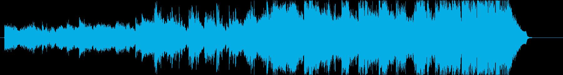 先進的でIQ高い系な映像に最適の再生済みの波形
