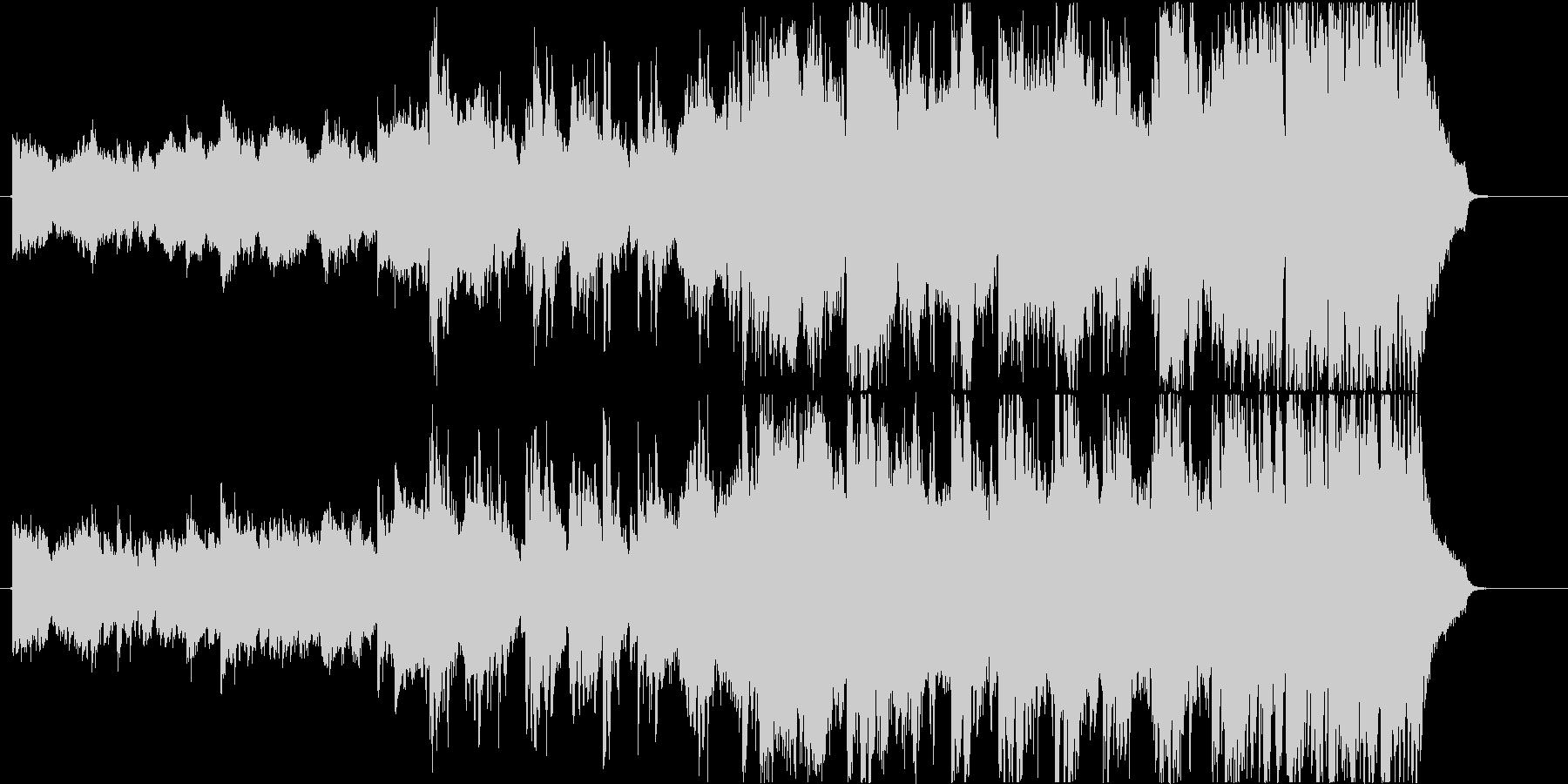 先進的でIQ高い系な映像に最適の未再生の波形
