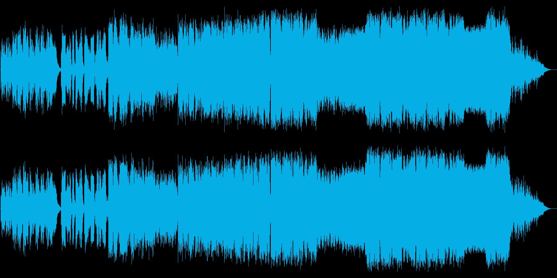 去らば去れの再生済みの波形