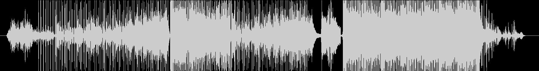 古典的でリラックスな曲の未再生の波形