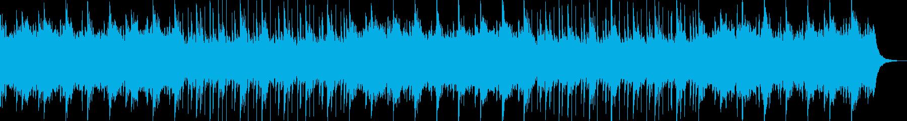 企業VP・映像、壮大・感動オーケストラの再生済みの波形