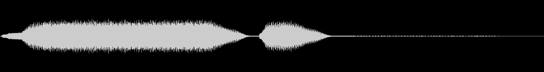 ディーゼル機関車:サウンドホーン、...の未再生の波形