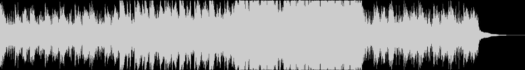 ゲームクエストなどを進行していくような曲の未再生の波形