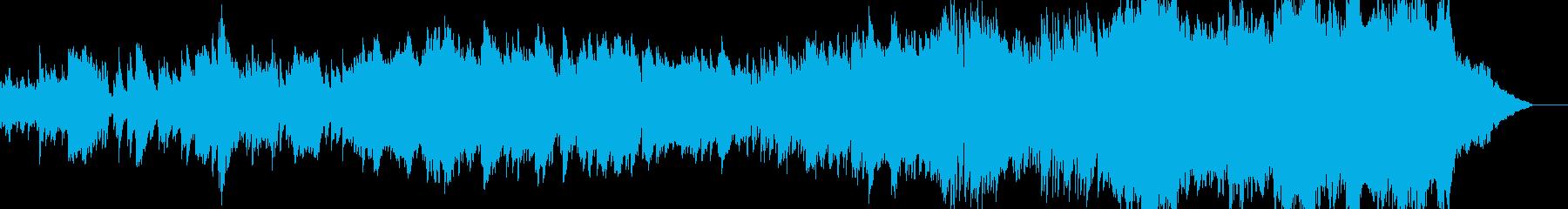 ピアノと弦楽器のオーケストレーショ...の再生済みの波形