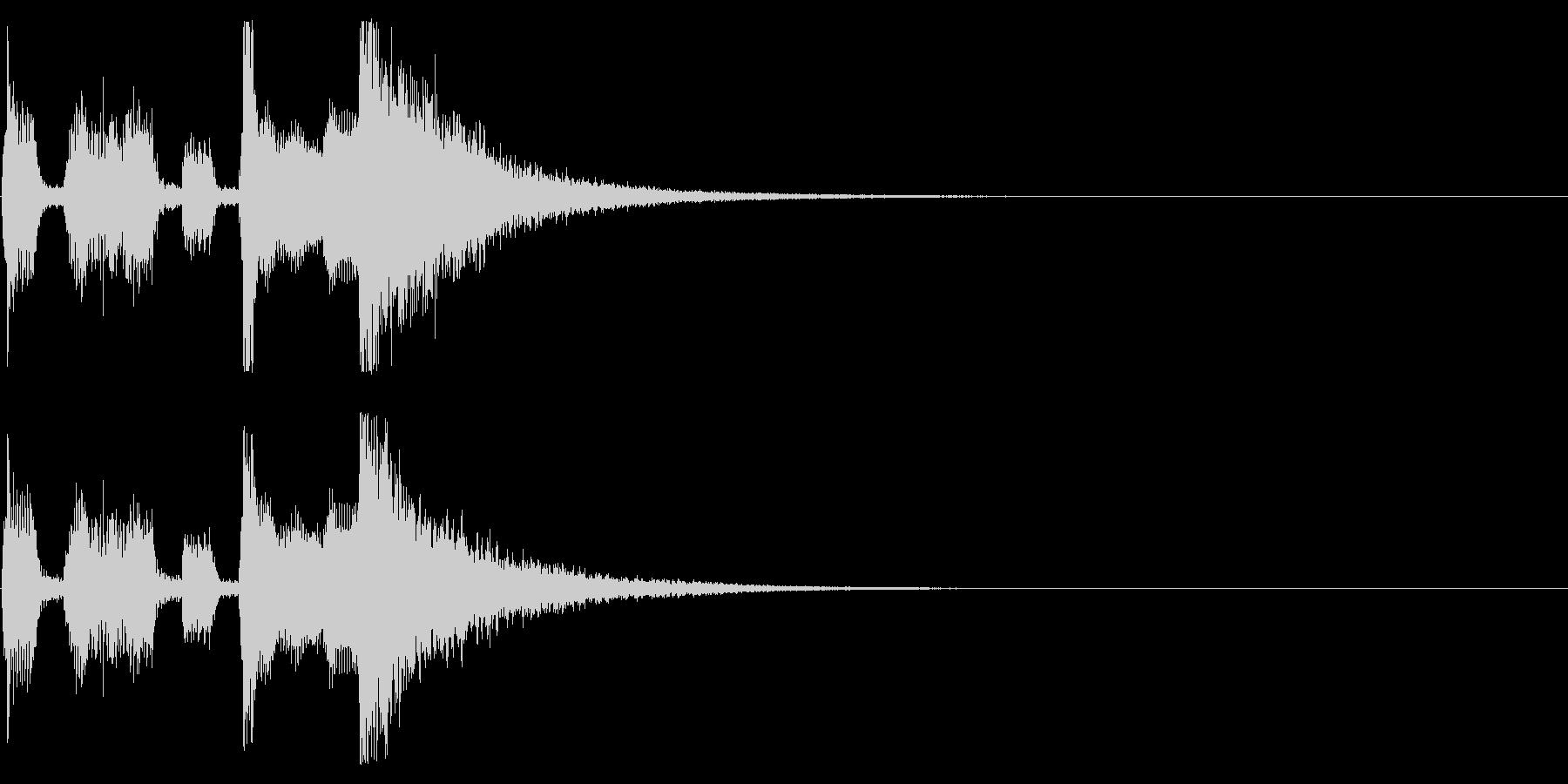 Sax音色がメインのファンファーレの未再生の波形