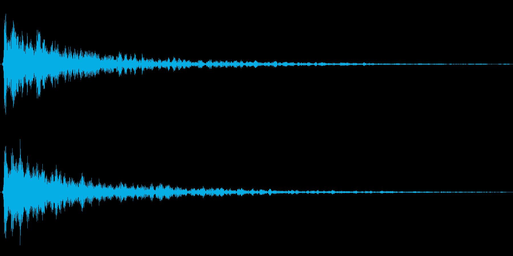 映画などの予告やサウンドロゴの再生済みの波形