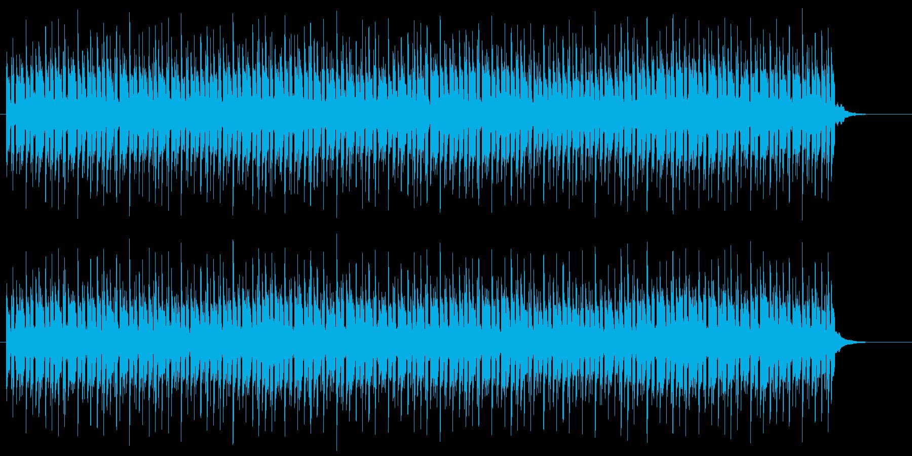 リザルト画面やメニュー選択のBGMの再生済みの波形