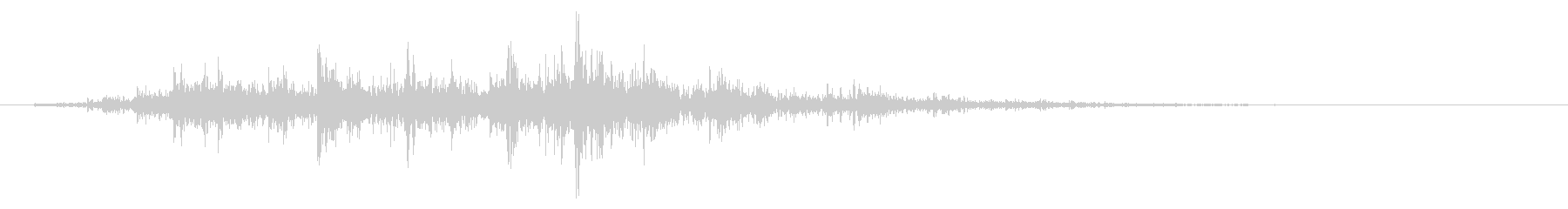 ガラガラ_崩れる音_05の未再生の波形