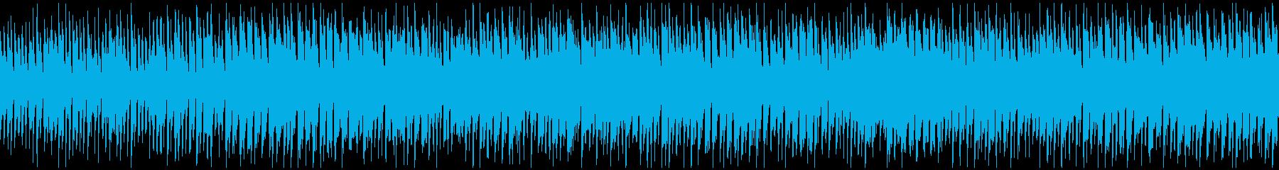カートゥーン系リコーダー劇伴 ※ループ版の再生済みの波形