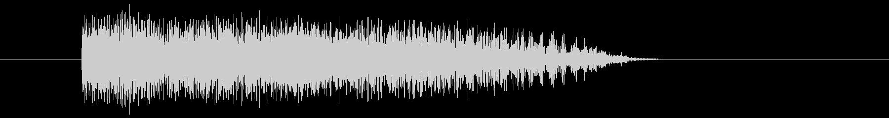 怪獣怪我-グロール3の未再生の波形