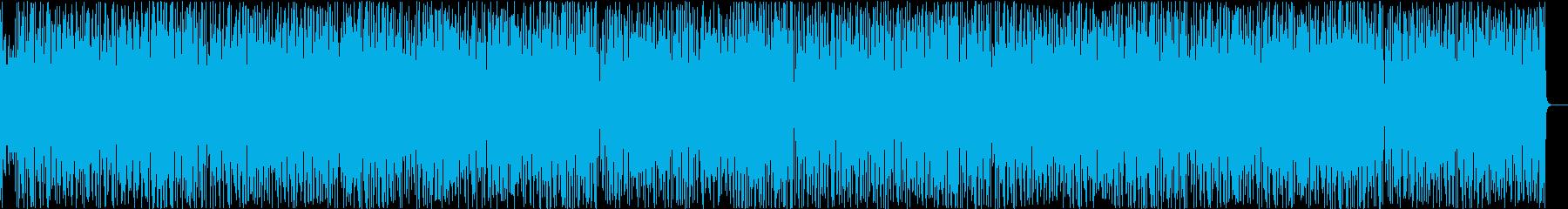 ガーリッシュでお洒落な可愛い系の再生済みの波形