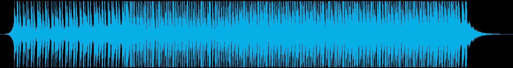 この高揚する家(短)の再生済みの波形