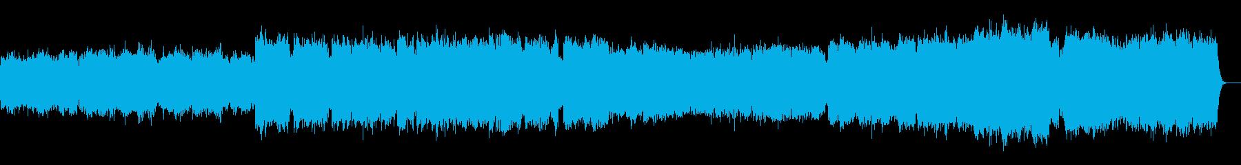 ファゴットの音色を活かした音楽ですの再生済みの波形
