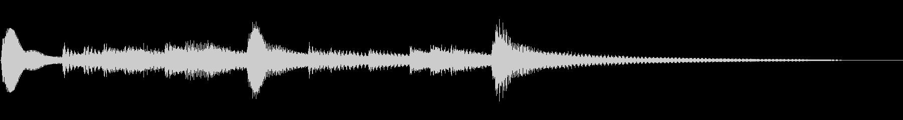 サウンドロゴ・ジングル・アコギ・優しいの未再生の波形
