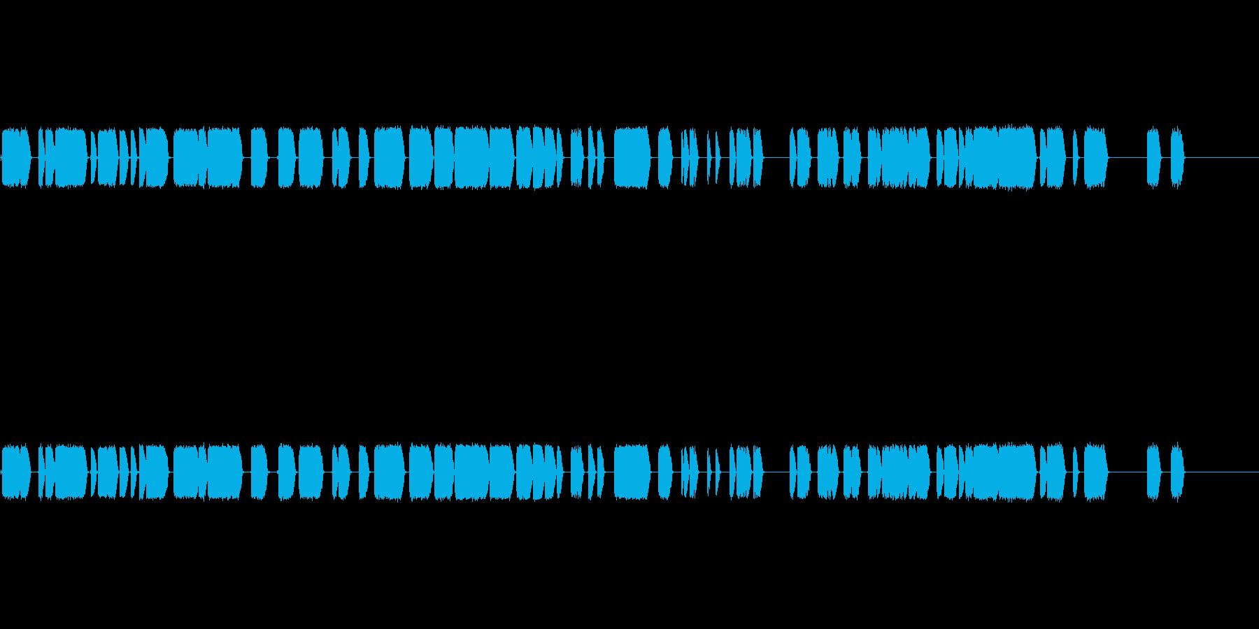 電圧の再生済みの波形