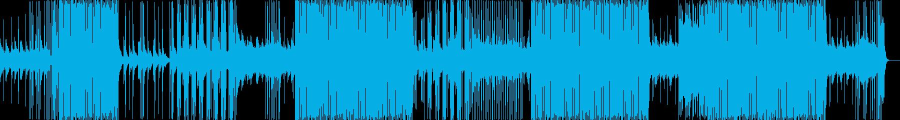 リズミカルな爽やかでノリが良い楽曲の再生済みの波形