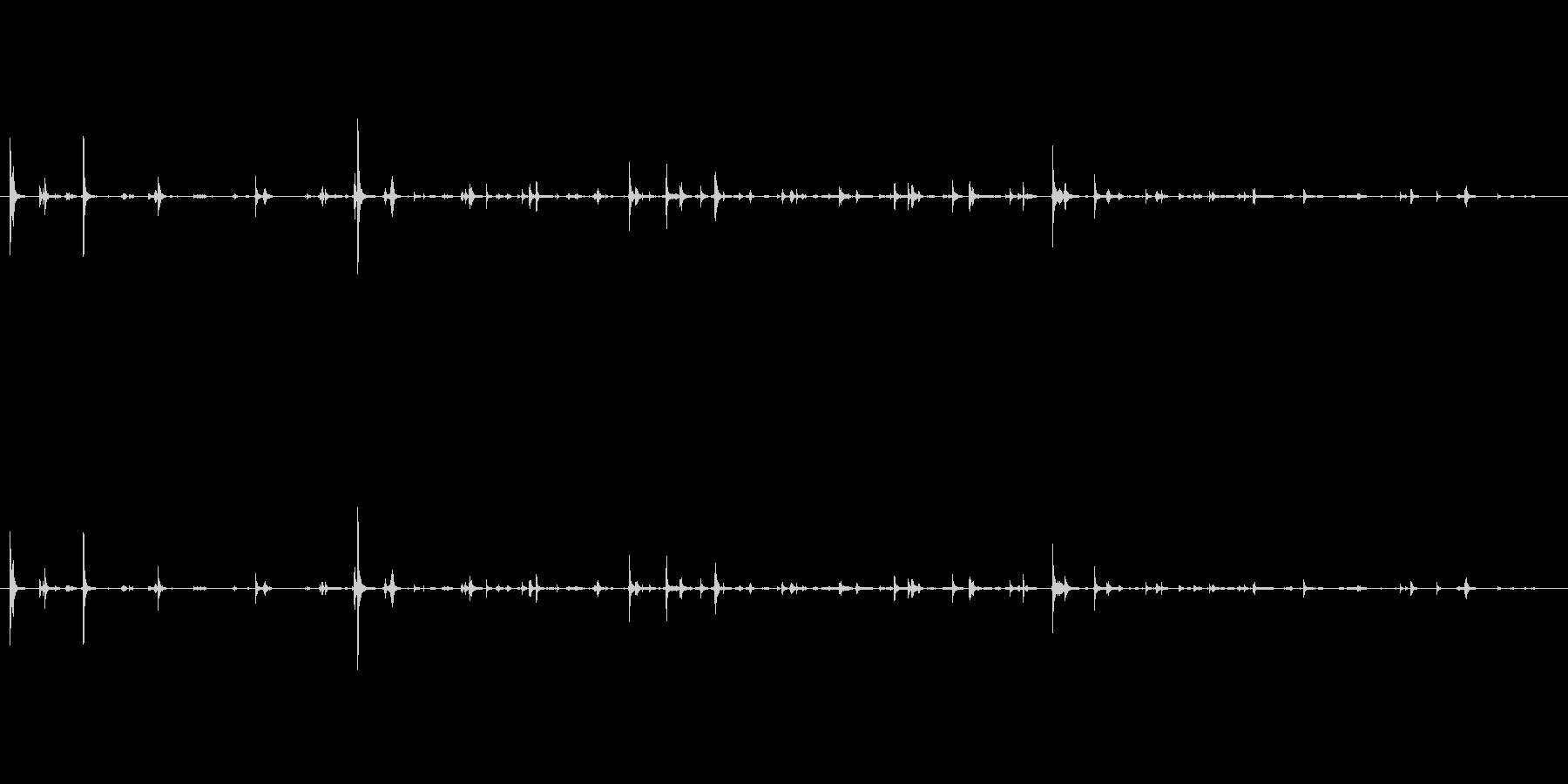 ランプ 長いテーブルバルブねじ01の未再生の波形
