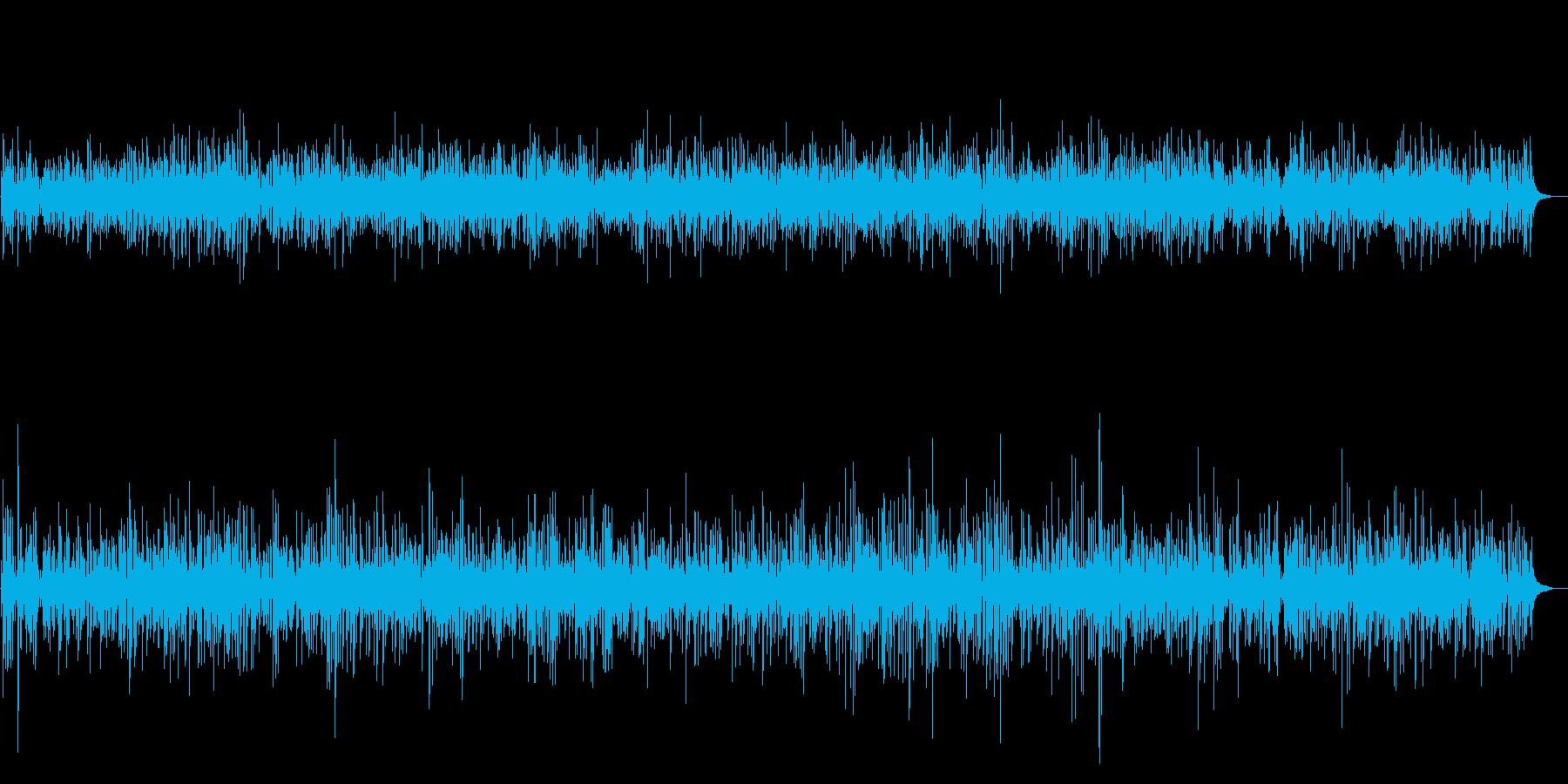 軽快ジャズ!楽しさ伝わるピアノBGMの再生済みの波形