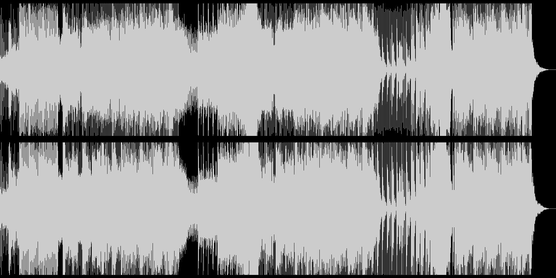 ゆるく流しておけるチル系DnBのBGMの未再生の波形