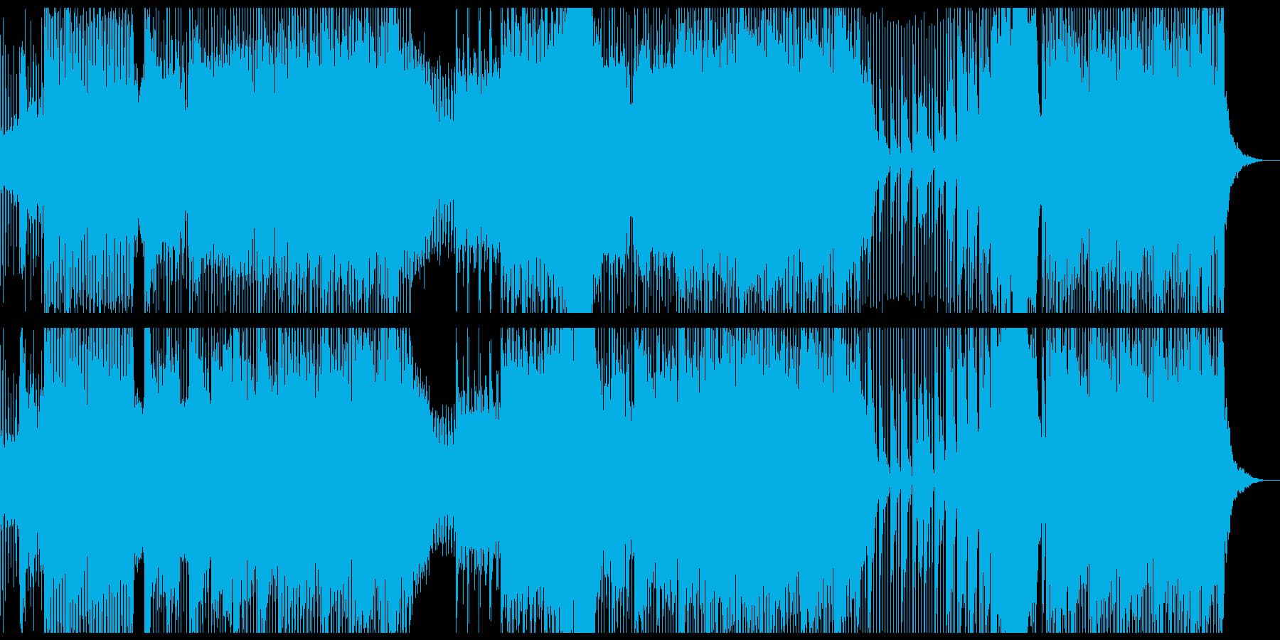 ゆるく流しておけるチル系DnBのBGMの再生済みの波形